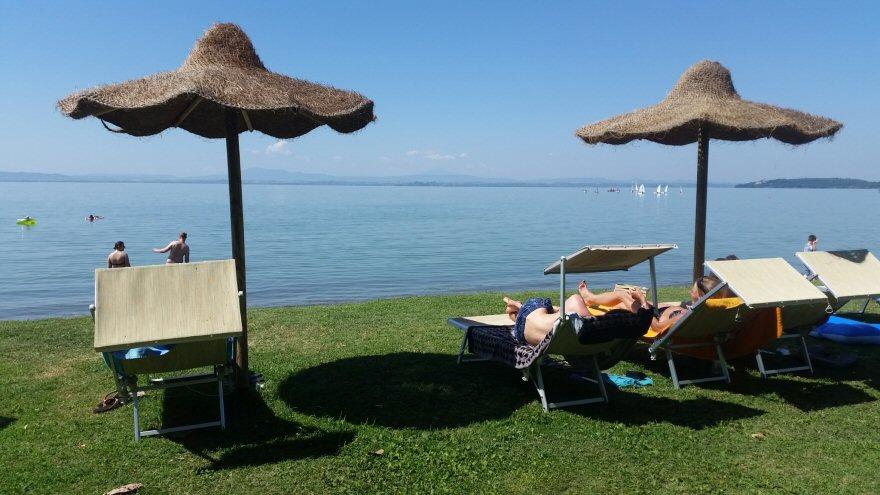 campeggio al lago Trasimeno